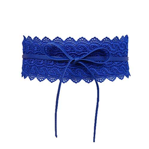 Moda Cinturones Anchos Vestido De La Pretina Del Cinturón De Cintura Elástica De Encaje Mujeres De La Cintura Elástico De La Correa De Cincha