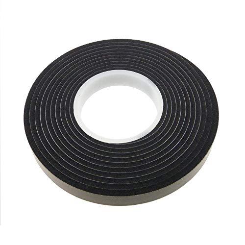 RIKAMA 12.5 m Komprimierband Acryl 300 | 15/2 | Breite 15 mm | anthrazit | Quellband | Kompriband | Fensterdichtung | Dichtungsband | Fugenabdichtung | Fugendichtband | expandiert von 2 auf 10 mm