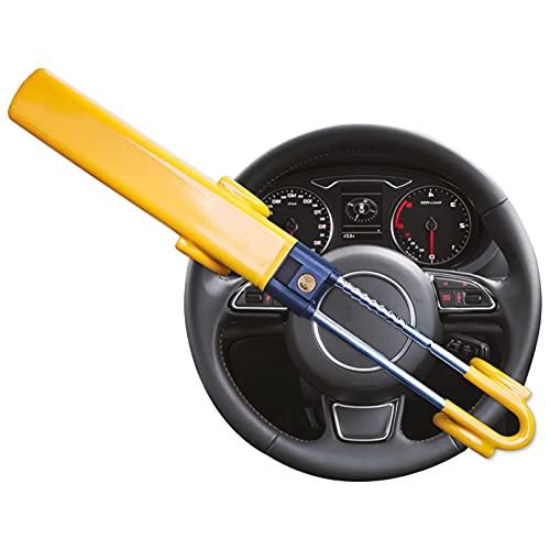 GADLANE Twin Bar Steering Wheel Lock High Visibility Car Lock Anti-Theft...
