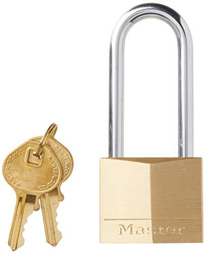 Master Lock 140DLH Padlock, 1 Pack, Bronze/Silver