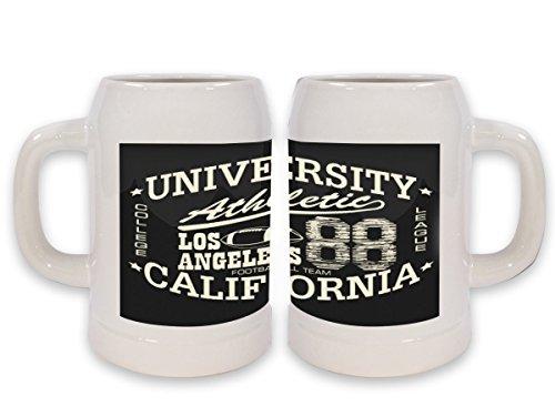 Jarra de Cerveza Deportes Los Angeles athletic impreso