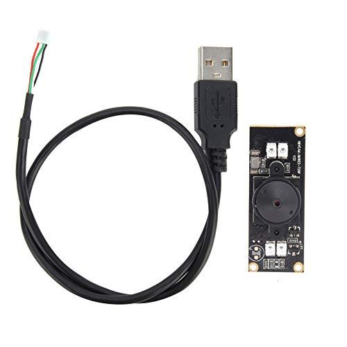 Módulo De Cámara OV9712 Módulo De Cámara USB con Luz De Visualización Nocturna Infrarroja HD 1280x720 30FPS 56 °