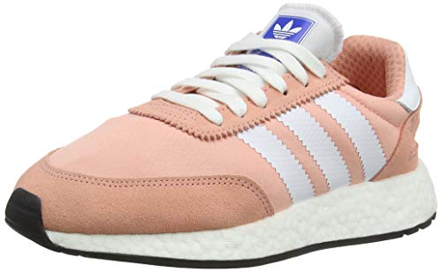 adidas I-5923 W, Zapatillas de Gimnasia para Mujer, 38 2/3 EU, Rosa (Trace Pink F17/Ftwr White/Core Black)