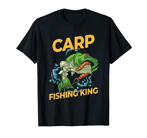 Mens Carp Fishing King - Carp Fisher T-Shirt