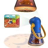 Proyector de cuentos infantiles con lente de zoom Lámpara de luces nocturnas para los niños Dormitorio durmiendo con...