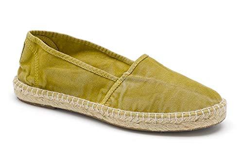 Natural World Eco – Zapatillas Veganas Camping Yute Enzimatico 625 E para Mujeres a la Moda de Tela – Estilo Fashion