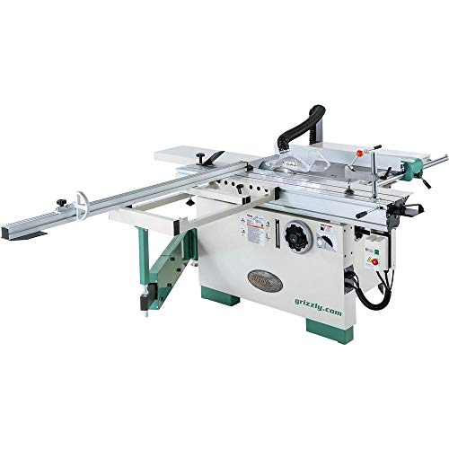 """Grizzly Industrial G0820-12"""" 7-1/2 HP 3-Phase Compact Sliding Table Saw"""