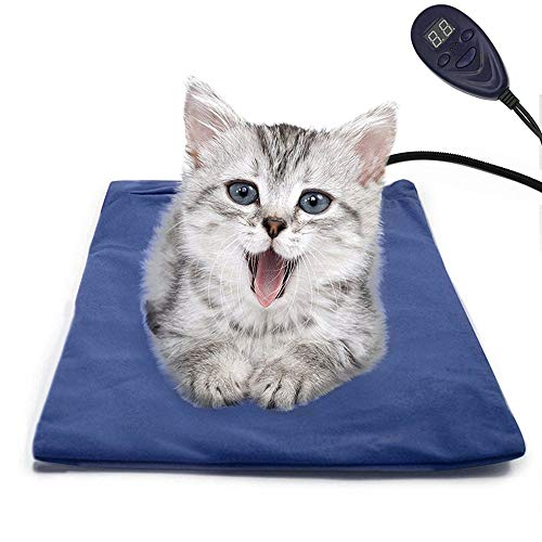 FLYMEI Pet Heating Pad, Dog Cat Electric Heating...