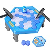 SS Save Penguin On Ice Game, Penguin Trap Break ice Activate Family Party Ice Breaking Kids Puzzle Table Knock Block