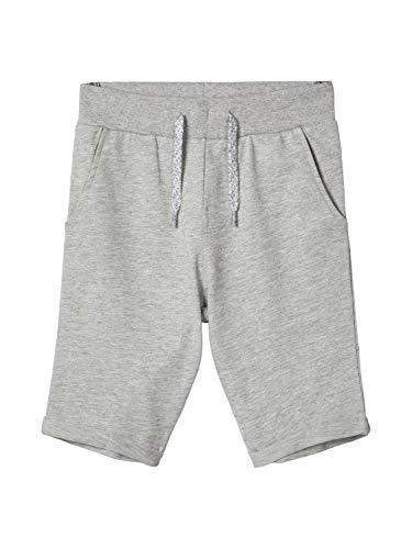 Name IT NOS Jungen NKMVERMO Long SWE UNB NOOS Shorts, Grau (Grey Melange), (Herstellergröße: 164)