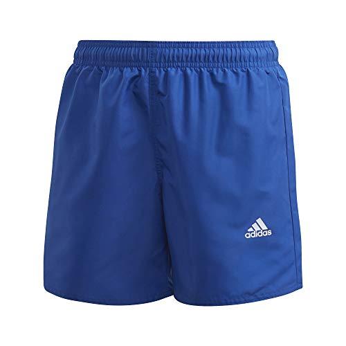 adidas YB BOS Shorts, Costume da Bagno Unisex-Bambini, azurea, 176 (15/16 Años)