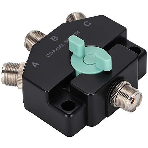 CX-310 antenneschakelaar, 50 ohm Breedband Coax-schakelaar met lage impedantie, M-J-interface, multifunctionele antenne met korte golfbasis