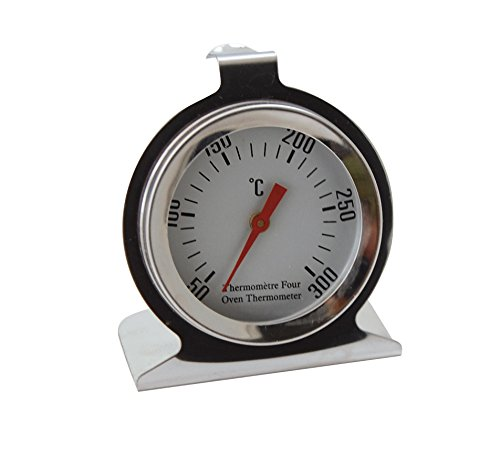 DE BUYER -4885.01 -thermometre a four tout inox +50+300°