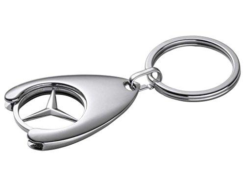 NEU Original Mercedes-Benz Einkaufswagenchip Schlüsselanhänger