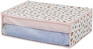 アストロ 寝具 収納袋 毛布・タオルケット・薄手の掛け布団用 プチローズ柄 不織布 183-27