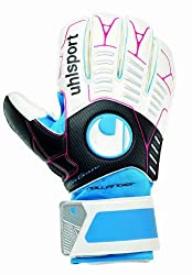Multi-coloured Uhlsport Ergonomic Soft Goalkeeper Training Glove