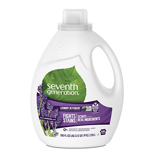 Seventh Generation Blue Eucalyptus and Lavender Laundry Detergent 100 oz