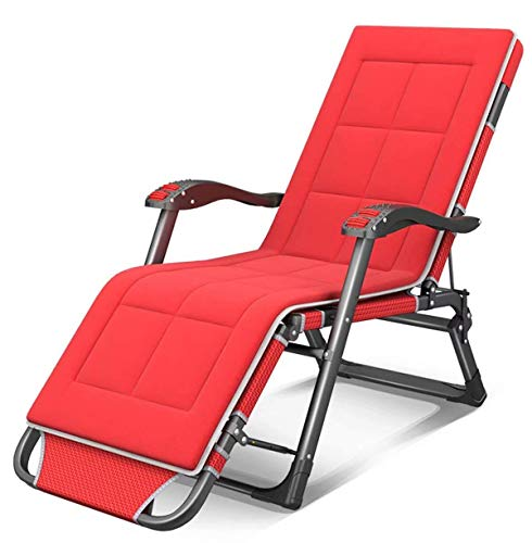 Kaper Go Gartenliege Relax Faltbaren Sessel, Strandstuhl Verstellbarer, Geeignet for Außen, Hof, Strand, Pool, Terrasse, Liegestuhl Garten Sonnenliege (Color : B)