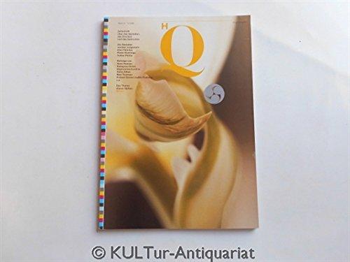 HQ - High Quality. Zeitschrift über das Gestalten, das Drucken und das Gedruckte. Heft 15/1989.