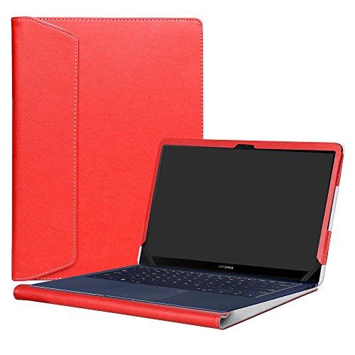 pequeño y compacto Funda protectora personalizada de cuero PU para Alapmk 14 pulgadas ASUS ZenBook 3 Deluxe…