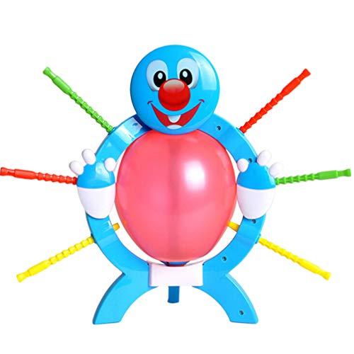 Toyvian Crazy Family Game Plastic Interessanter Ballon Boom Burnt Ballon Spiel für Eltern -Kinder Party Kinder Spielen