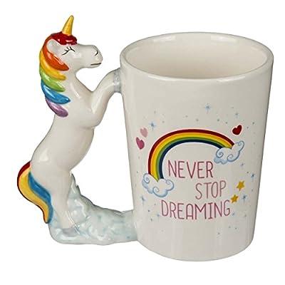 OOTB 78/8272 - Taza de cerámica con figura de unicornio