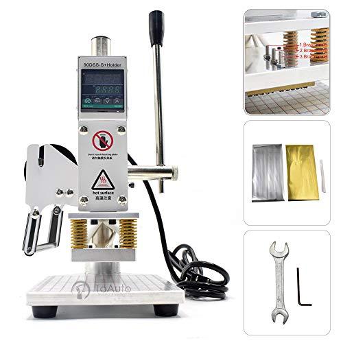 Upgraded Hot Foil Stamping Machine 5x7cm 110V Digital Embossing...