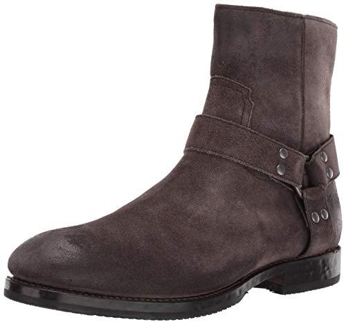 FRYE Men's Nelson Harness Fashion Boot, grigio, 8.5 M M US