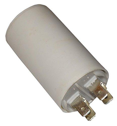 Preisvergleich Produktbild Aerzetix - Kondensator ständigen Arbeitsprogramm für Motor 40µF 450V mit 6, 3 mm Anschlüssen