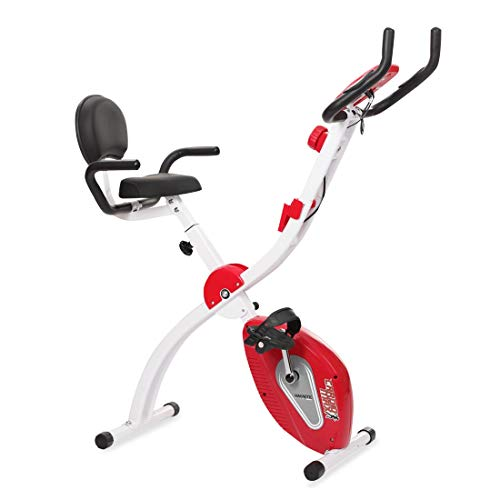 Cardio Max JSB Fitness Bike for Home Gym X-Bike Foldable Exercise Cycle with Backrest & Hand Support...