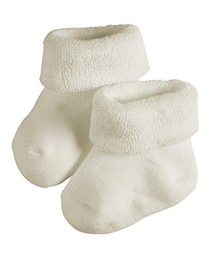 FALKE Baby Socken Erstling - 89% Baumwolle, 1 Paar, Weiß (Off-White 2040), Größe: 62-68