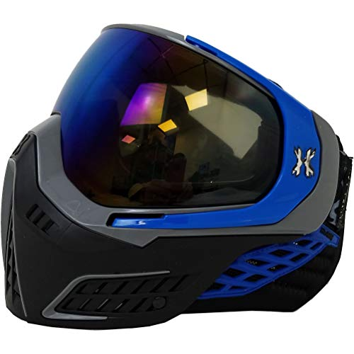 HK Army Paintball KLR Sonic Thermal Anti-Fog Mask/Goggles (Sonic Blue)