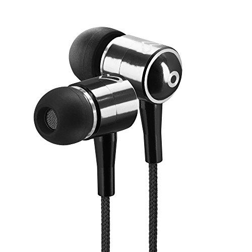 Energy Sistem Earphones Urban 2 Black Cuffie intrauricolari ultraleggere(Magnete al neodimio e Suono Straordinario per Smartphone o Lettori) Nero