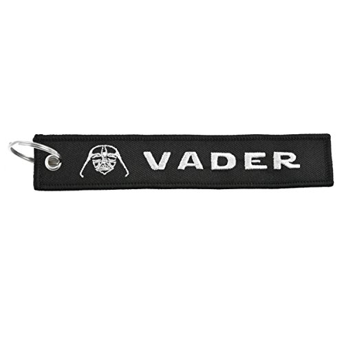 Apex Imports Darth Vader Remove Before Flight Style Key Chain 5.5' x 1' Motorcycle ATV Car Truck Keychain
