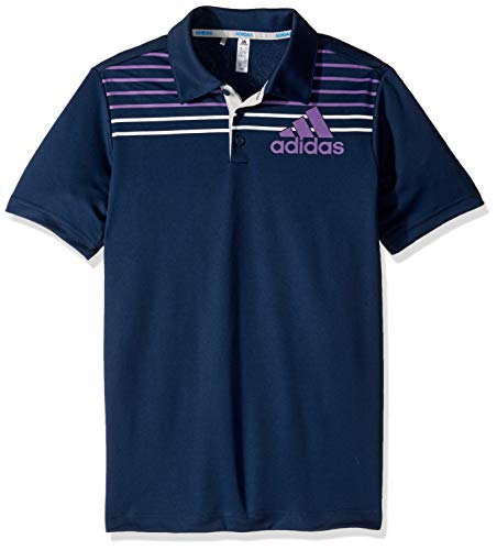 adidas Jungen Badge of Sport Polo, Collegiate Marineblau, Small