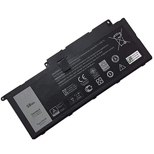 XITAI 14.8V 58Wh F7HVR 062VNH G4YJM T2T3J Ersatz Laptop Akku für Dell Inspiron 15 7537, 17 7737 Series MEHRWEG