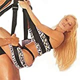 Yoga Swing 360 Degree Indoor Swing with Steel Triangle Frame and Spring Holds Up to 500 lbs