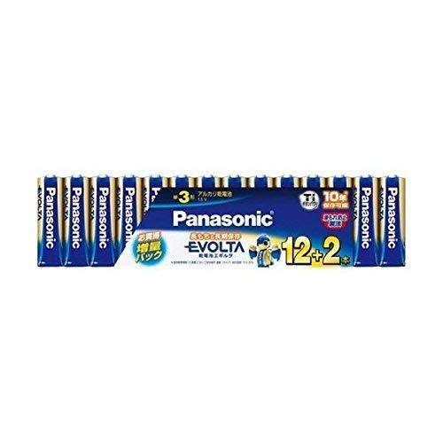 パナソニック エボルタ乾電池単3-12+2本組