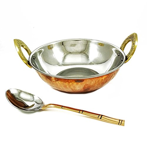 Indian Kadahi Spoon Copper Kitchen Accessories