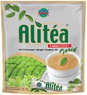 Malaysia Famous Alitea 5 In 1 Instant Tea With Added Tongkat Ali & Ginseng Extract (18s x 30g)