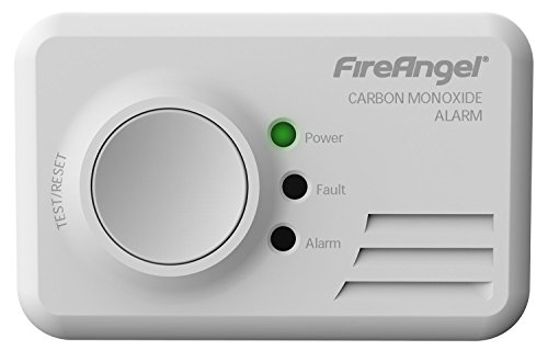 FireAngel Kohlenmonoxid-Alarm–10Jahre Lebensdauer, in versiegeltem Power-Pack