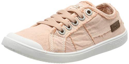 Blowfish Vesper, Baskets Femme, Rose (Dirty Pink Colour Washed Canvas 677), 37 EU