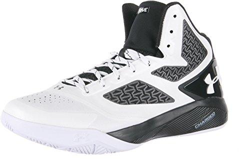 Under Armor Clutchfit Drive 2, scarpe da basket , Bianco (White), 40.5 EU