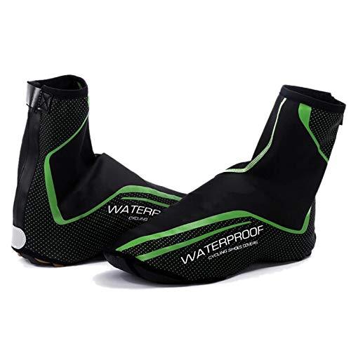 Dasorende Cubierta de Zapato de Ciclismo Impermeable Reflexivo Full Zip MTB Road...
