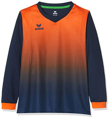 ERIMA Kinder Trikot Leeds Trikot, new navy/neon orange, 140, 3141834