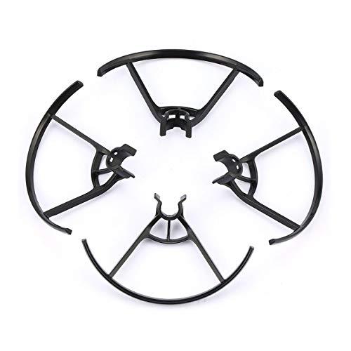 Qewmsg Protect Propeller Props Cuchillas Piezas de Repuesto Anillo Protector Propeller Guard Blades Protect For dji Tello Drone Accesorios