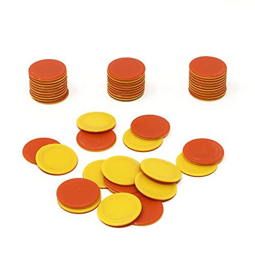 Learning Resources Jeu de 120 jetons rouges / jaunes