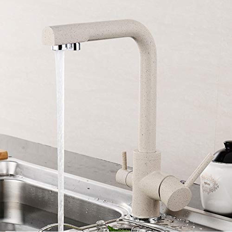 Lddpl Wasserhahn Filter Küchenarmaturen Deckmontage Mischbatterie Doppelauslauf Wasseraufbereitung Merkmale Trinkwasserhahn Kran