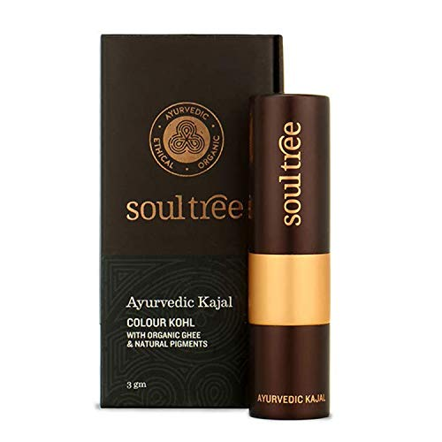 Soul Tree Ayurvedic Kajal Certified Natural Fern Green 001 3g
