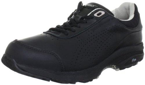 Asics Gel-Cardio Zip 2 - Zapatos de Senderismo de Cuero Mujer, Color Negro, Talla 39.5